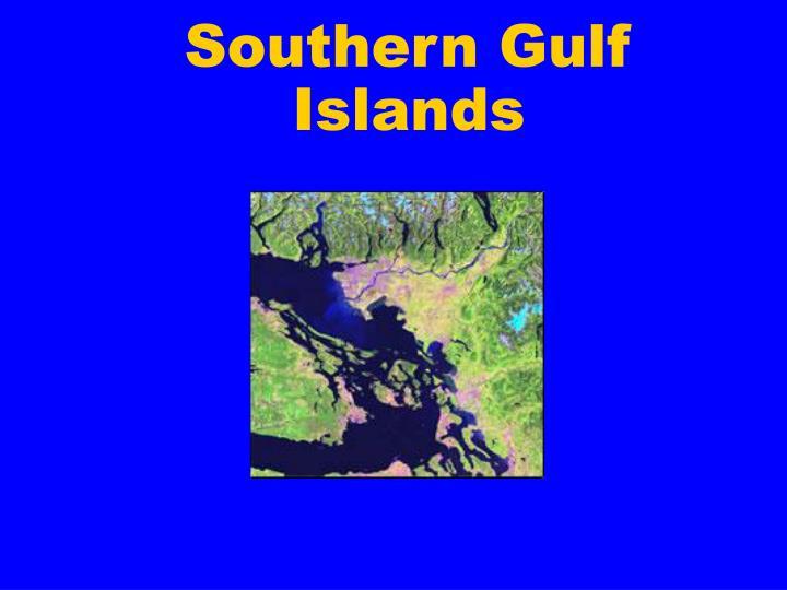 Southern Gulf Islands