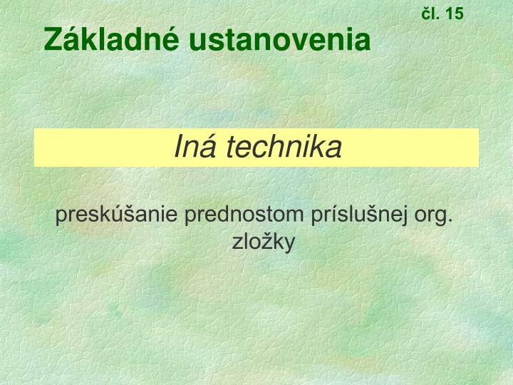 čl. 15