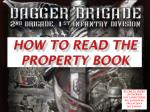 how to read the property book