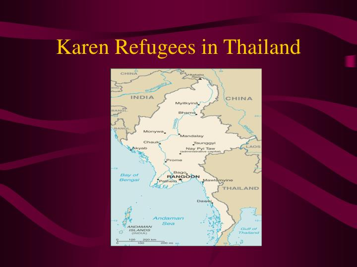 Karen Refugees in Thailand
