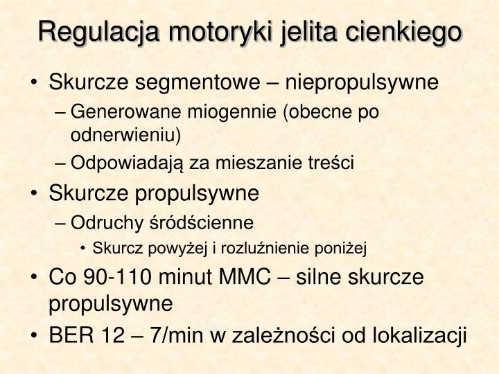 Regulacja motoryki jelita cienkiego