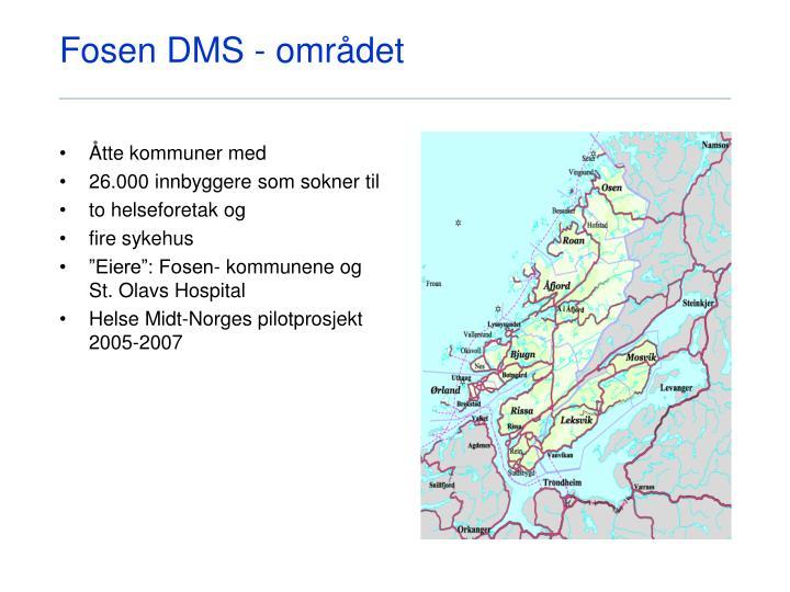 Fosen DMS - området