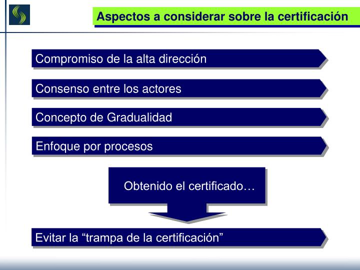 """Evitar la """"trampa de la certificación"""""""