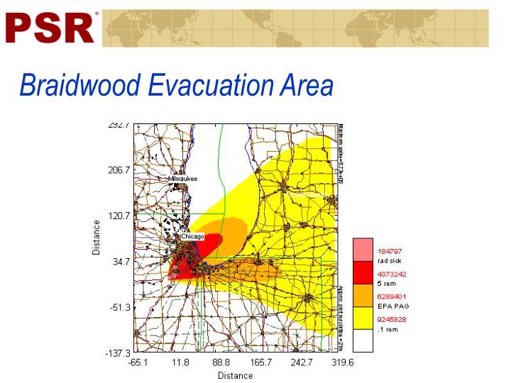 Braidwood Evacuation Area