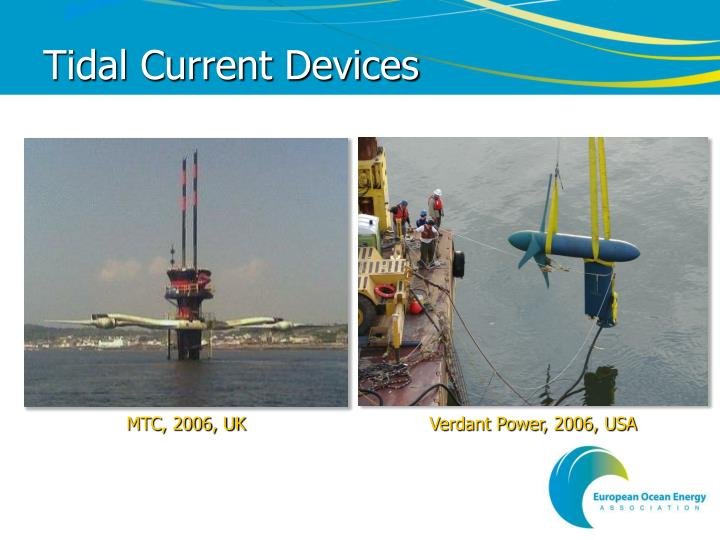 Tidal Current Devices