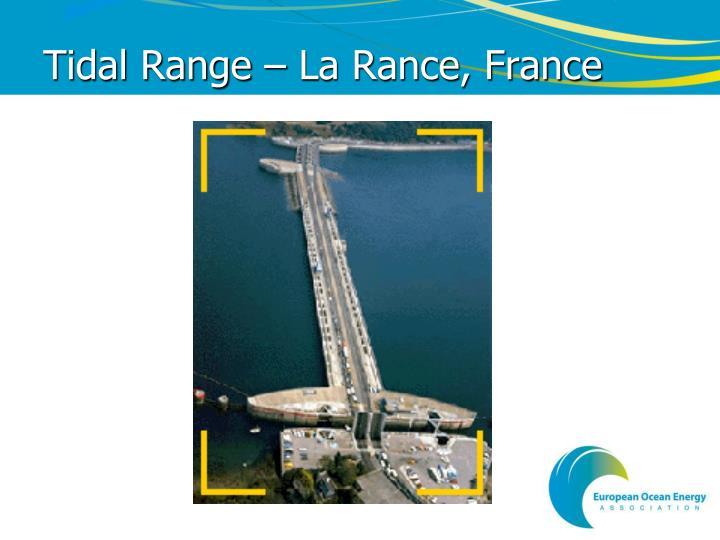 Tidal Range – La Rance, France