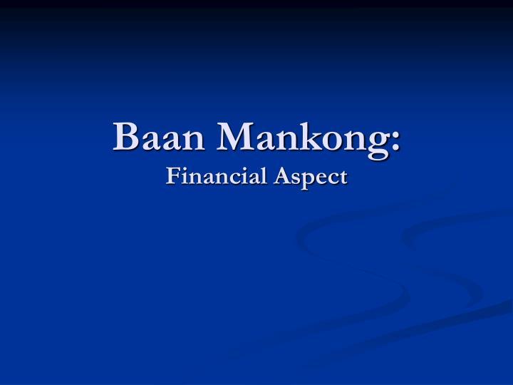 Baan Mankong: