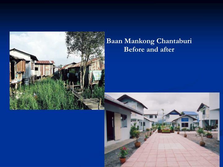 Baan Mankong Chantaburi