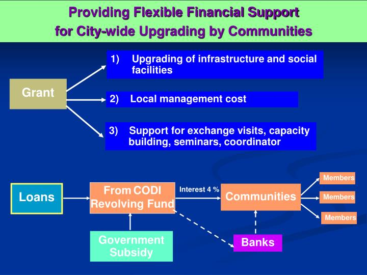 Providing Flexible Financial Support