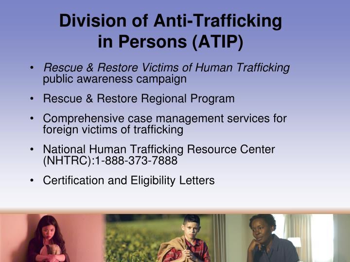 Division of Anti-Trafficking