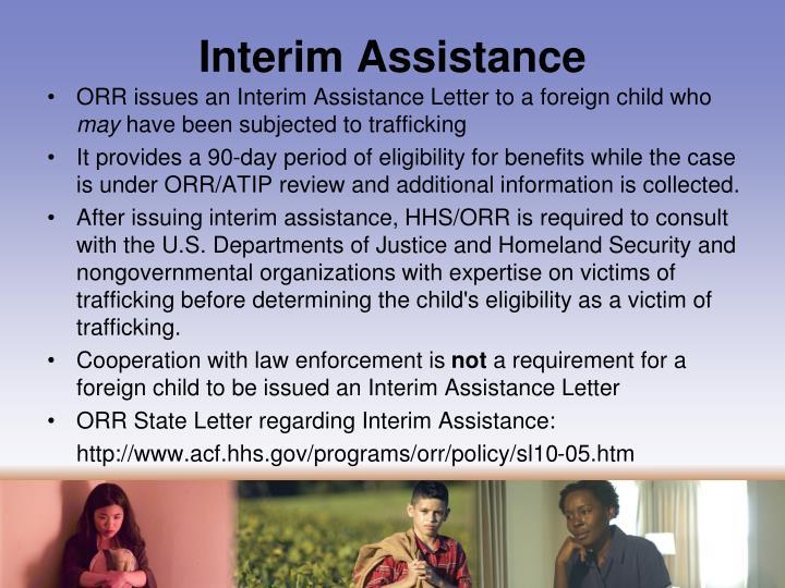 Interim Assistance