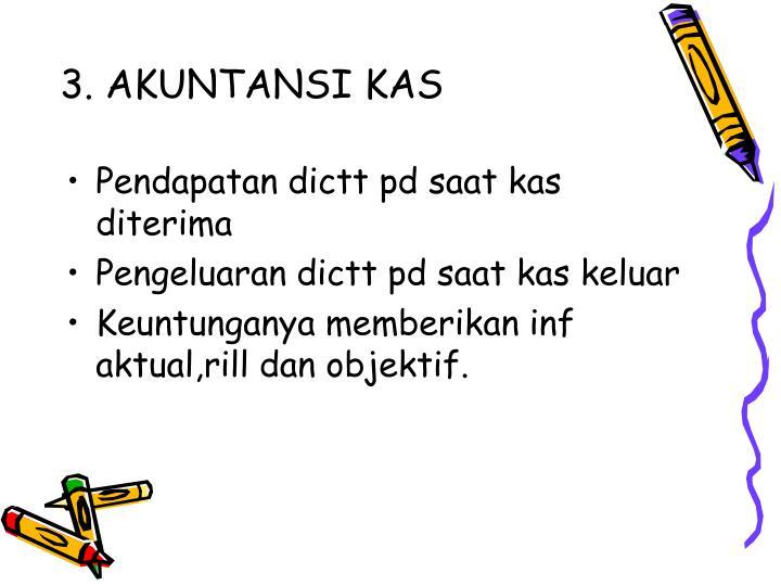 3. AKUNTANSI KAS