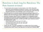 barcelona is dead long live barcelona the paris summit revisited1