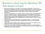 barcelona is dead long live barcelona the paris summit revisited3