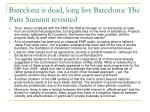 barcelona is dead long live barcelona the paris summit revisited4
