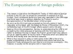the europeanisation of foreign policies2