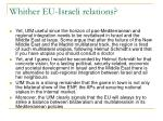 whither eu israeli relations1