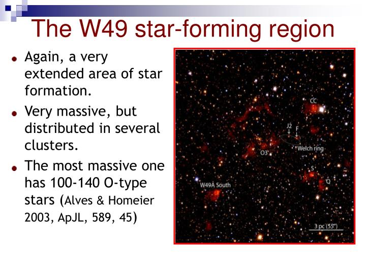 The W49 star-forming region