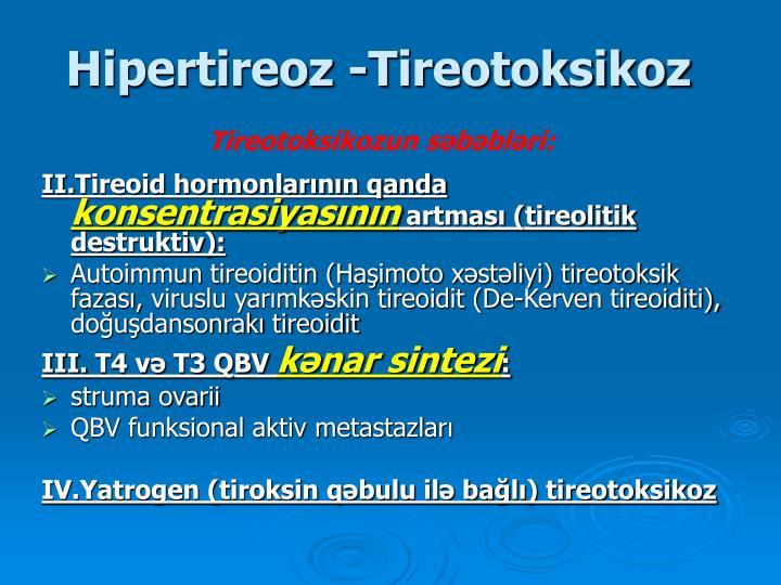Hipertireoz
