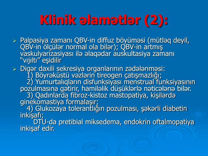 Klinik əlamətlər (2)