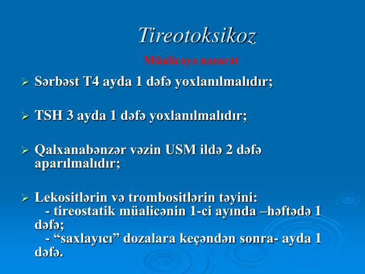 Tireotoksikoz