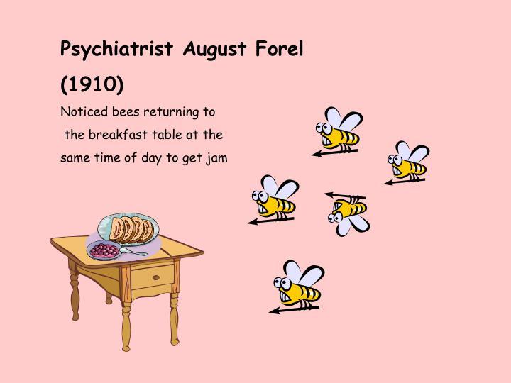 Psychiatrist August Forel