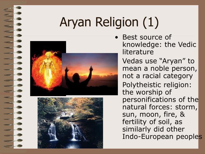 Aryan Religion (1)