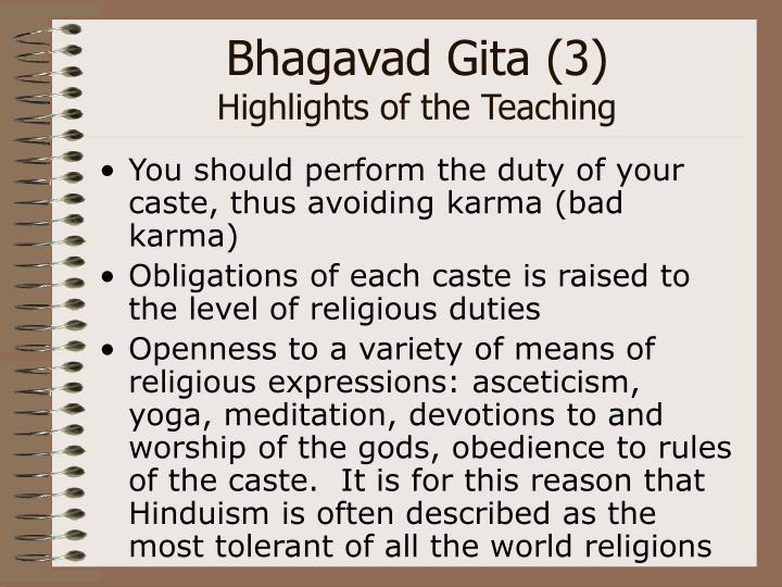 Bhagavad Gita (3)