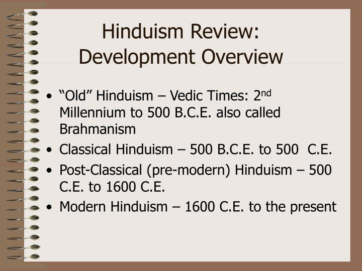 Hinduism Review:
