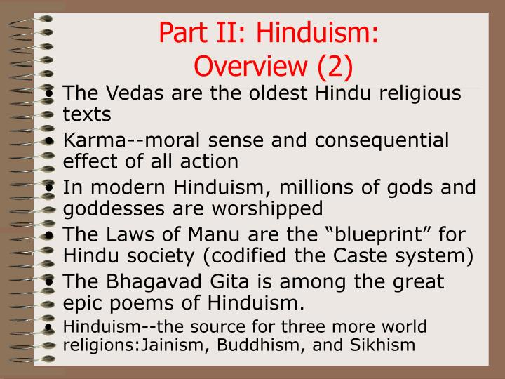 Part II: Hinduism: