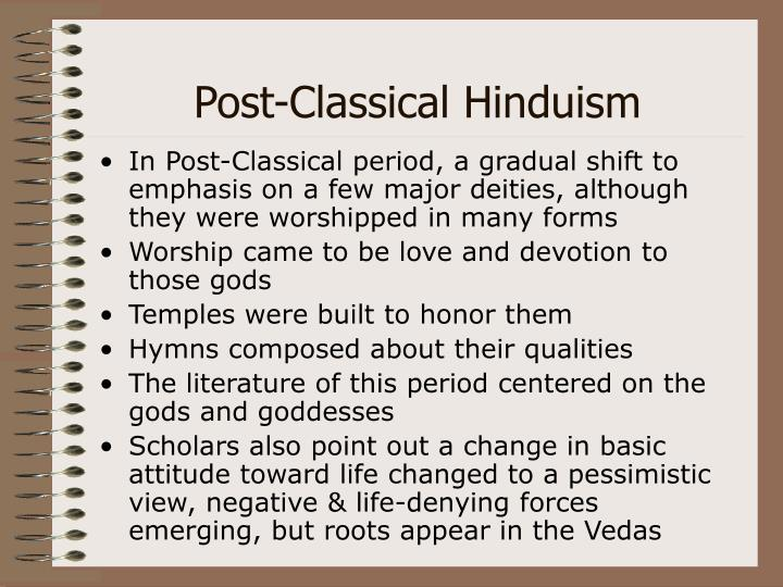 Post-Classical Hinduism
