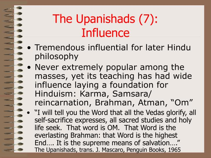The Upanishads (7):