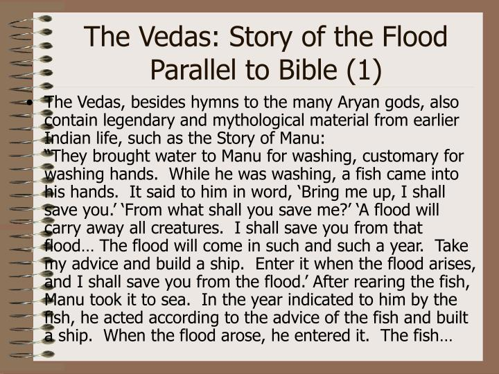 The Vedas: Story of the Flood Parallel to Bible (1)