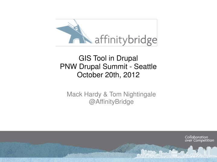 GIS Tool in Drupal