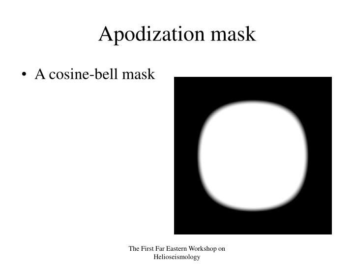 Apodization mask