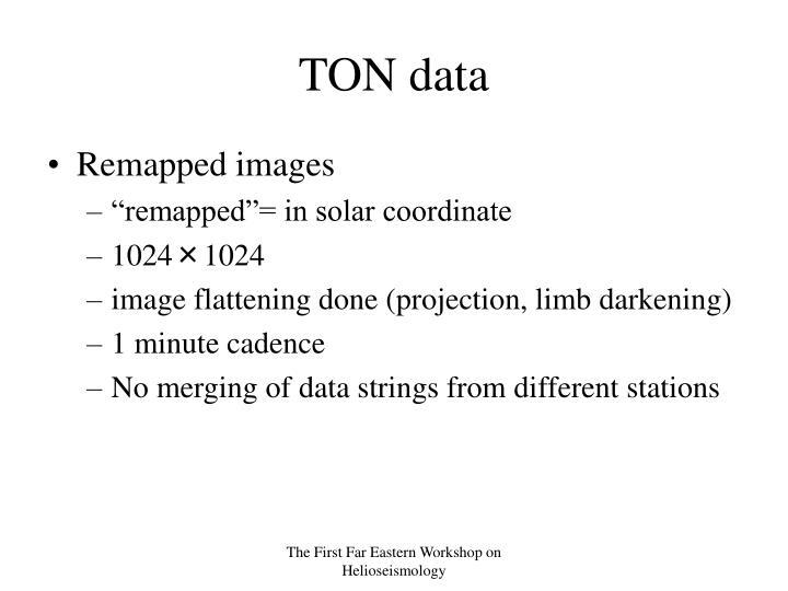 TON data