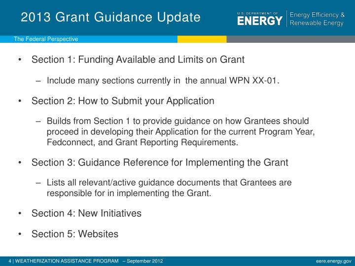 2013 Grant