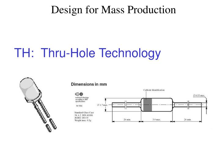 TH:  Thru-Hole Technology