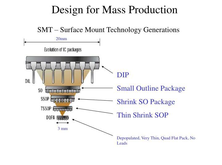SMT – Surface Mount Technology Generations