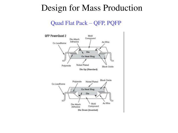 Quad Flat Pack – QFP, PQFP