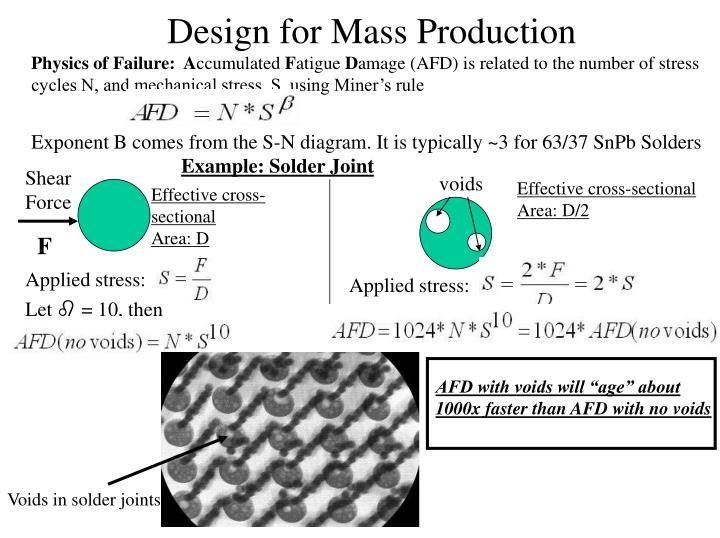 Physics of Failure:  A