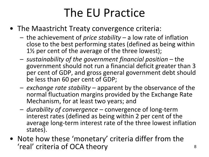 The EU Practice