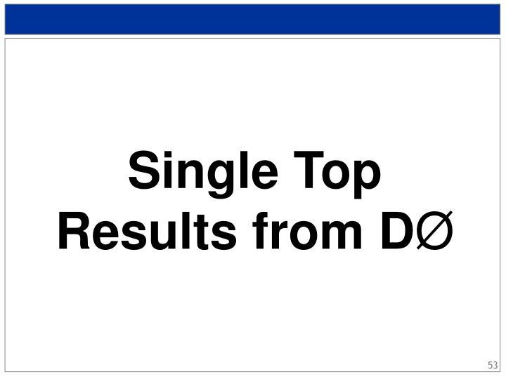 Single Top