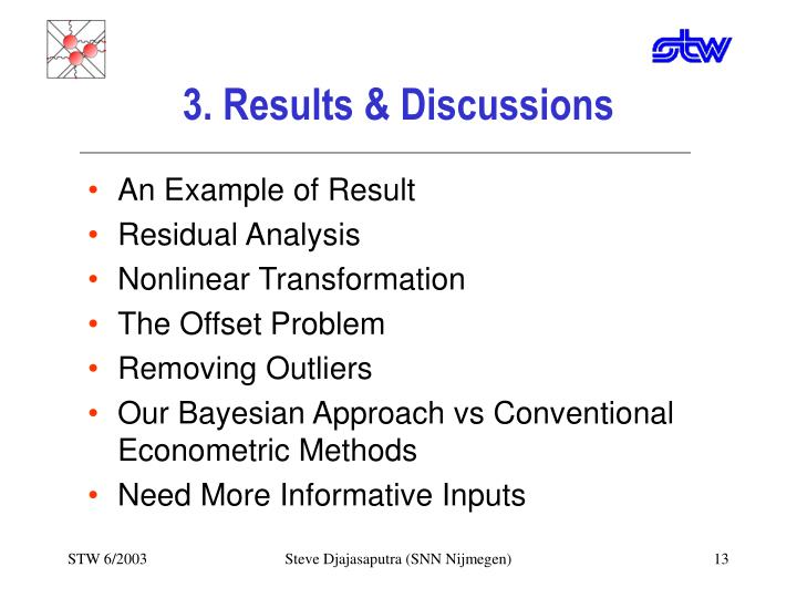 3. Results & Discussions