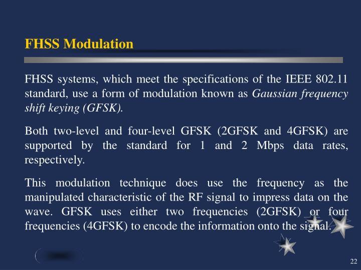 FHSS Modulation