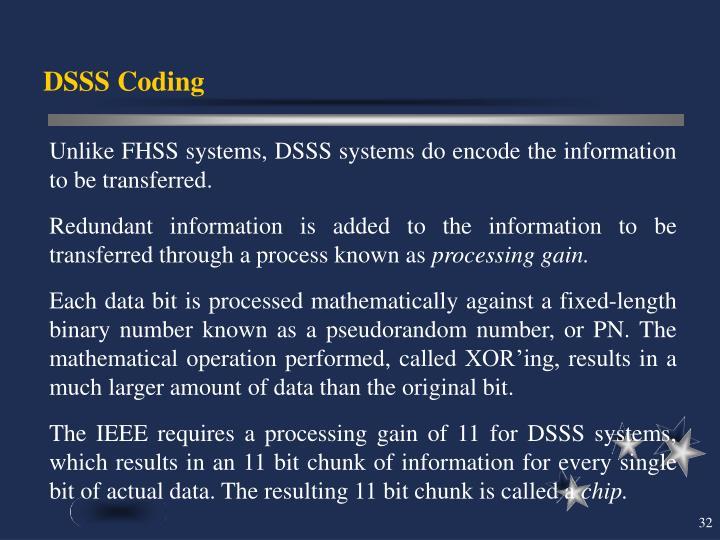 DSSS Coding