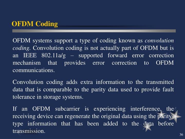 OFDM Coding