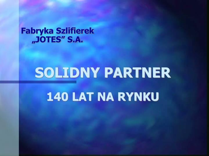 SOLIDNY PARTNER