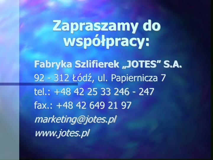 Fabryka Szlifierek JOTES S.A.