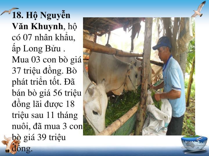 18. Hộ Nguyễn Văn Khuynh